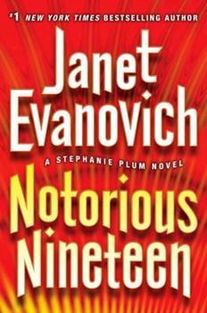 Paperback Notorious Nineteen: A Stephanie Plum Novel [Large Print] Book