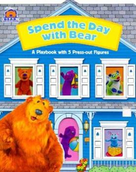 Board book Spend a Day With Bear (Bear In The Big Blue House) Book