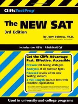 Paperback CliffsTestPrep The NEW *SAT: Includes the New *PSAT/NMSQT (Cliffsnotes Testprep) Book