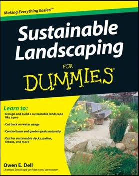 Paperback Sustainable Landscaping For Dummies Book