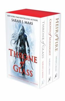 Throne of Glass 1-3 Set 1408862433 Book Cover