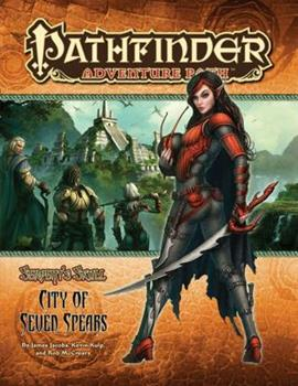 Pathfinder Adventure Path #39: The City of Seven Spears - Book #3 of the Serpent's Skull