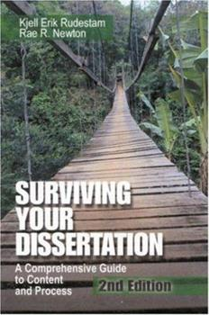 Paperback Surviving Your Dissertation : A Comprehensive Guide to Content and Process Book