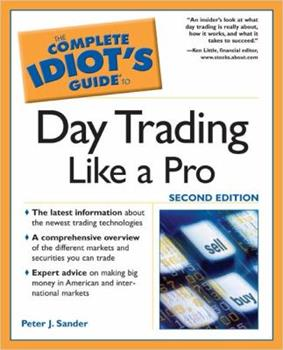 Complete Idiot Guide To Day Trading Like A Pro 1592574327 Book Cover
