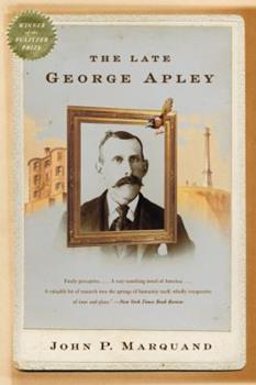 The Late George Apley 0671469215 Book Cover