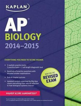Paperback Kaplan AP Biology 2014-2015 (Kaplan Test Prep) Book