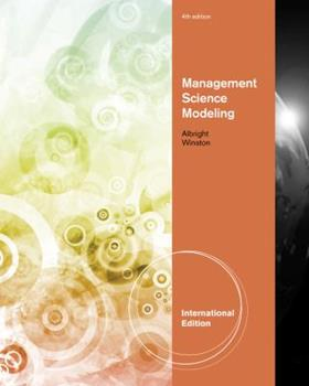 Management Science Modeling 1111532451 Book Cover