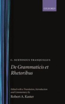 The Lives of the Grammarians, Rhetoricians and Poets 1406565989 Book Cover