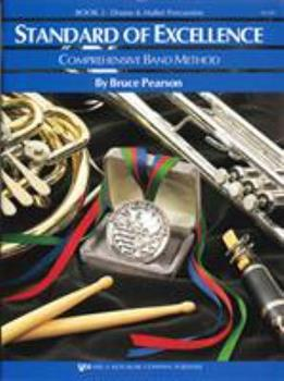 Paperback W22PR - Standard of Excellence Book 2 - Drums and Mallet Percussion (Standard of Excellence - Comprehensive Band Method) Book