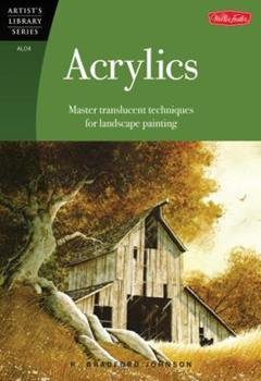 Paperback Acrylics (Artist's Library series #04) Book