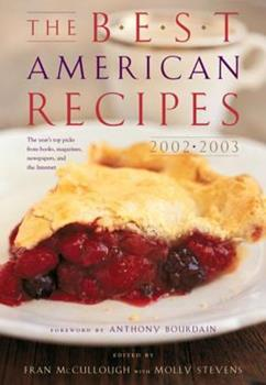 The Best American Recipes 2002-2003 (Best American) 0618191372 Book Cover