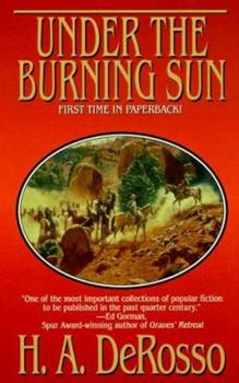 Under the Burning Sun: Western Stories (Five Star Western Series) 0843947128 Book Cover
