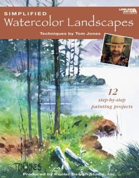 Simplified Watercolor Landscapes (Leisure Arts #22659) 160140834X Book Cover