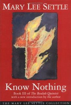 Know Nothing 0684188473 Book Cover