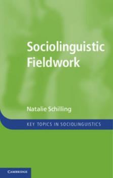 Paperback Sociolinguistic Fieldwork Book