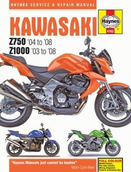 Paperback Kawasaki Z750 & Z1000, '03-'08 Book