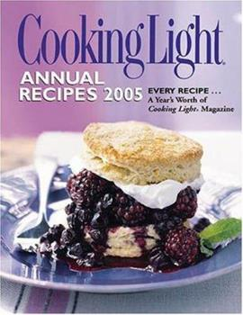 Hardcover Cooking Light Annual Recipes 2005 Book