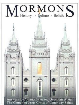 Mormons: History, Culture, Beliefs 0974486035 Book Cover