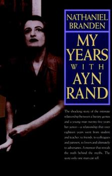 My Years with Ayn Rand 0787945137 Book Cover