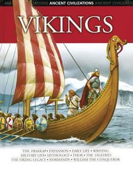 Vikings (Ancient Civilizations) 0791084906 Book Cover