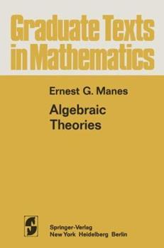 Paperback Algebraic Theories Book
