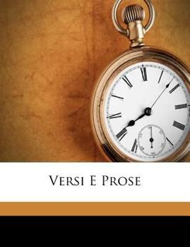 Paperback Versi e Prose Book
