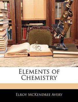 Paperback Elements of Chemistry Book