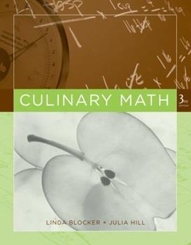 Culinary Math 0471469343 Book Cover
