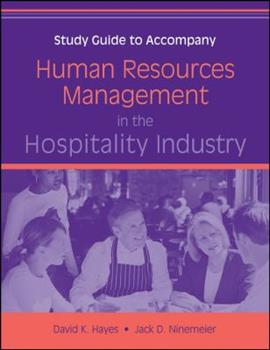 Human Resources Management in the Hospitality Industry, Study Guide 0470140607 Book Cover