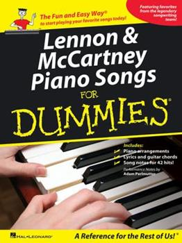 Lennon & McCartney Piano Songs for Dummies 1423496051 Book Cover