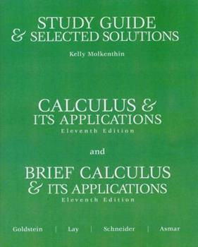 Study Guide and Selected Solutions 0131919679 Book Cover