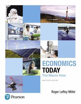 Economics Today: The Macro View 0673980561 Book Cover