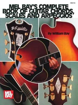 Paperback Complete Book of Guitar Chords, Scales and Arpeggios Book