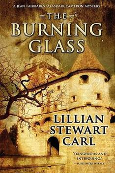 The Burning Glass (Five Star Mystery Series) 1594145911 Book Cover