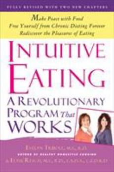 Paperback Intuitive Eating Book