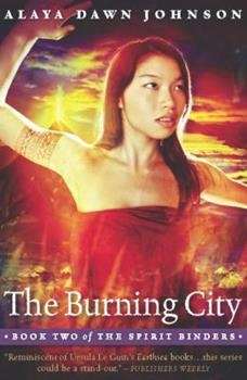 The Burning City 1932841458 Book Cover