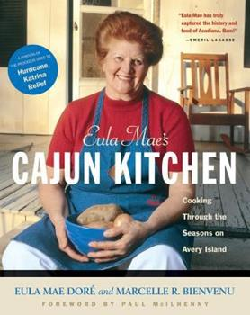 Eula Mae's Cajun Kitchen: Cooking Through the Seasons on Avery Island 155832240X Book Cover