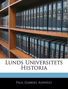 Paperback Lunds Universitets Historia Book