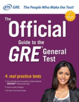 Paperback The Official Guide to the GRE General Test, Third Edition Book