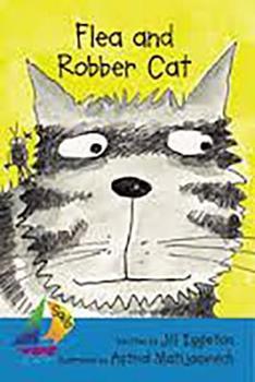 Paperback Flea and Robber Cat: Leveled Reader Book