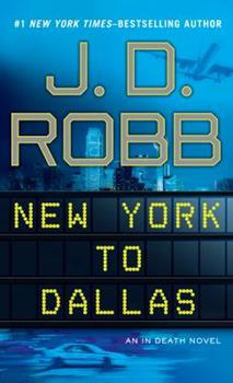 Paperback New York to Dallas [Large Print] Book