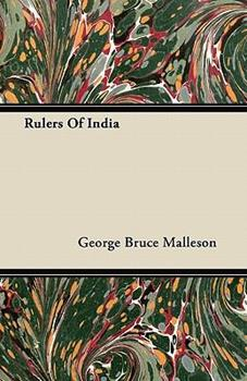Paperback Rulers of Indi Book
