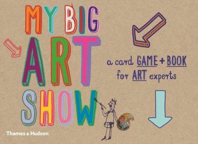 Paperback My Big Art Show [With 54 Playing Cards] Book