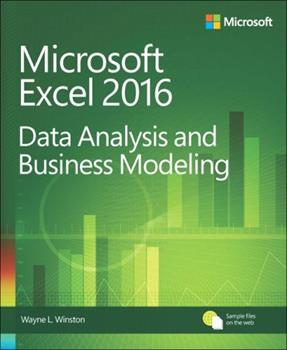 Microsoft  Excel Data Analysis and Business Modeling 0735619018 Book Cover