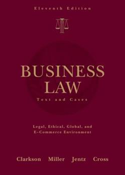 West's Business Law (with Online Legal Research Guide) (West's Business Law) 0324152825 Book Cover