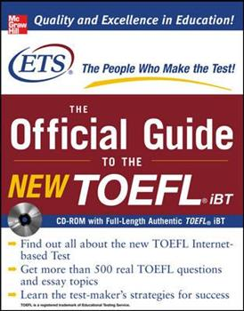Paperback The Official Guide to the New TOEFL IBT Book