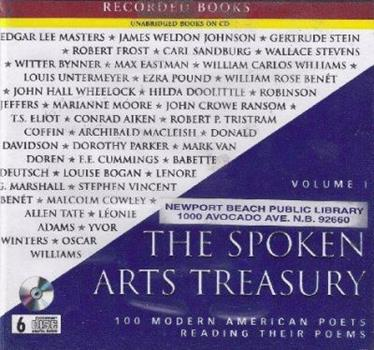 The Spoken Arts Treasury, Volume III: 100 Modern American Poets Reading Their Poems 1428152458 Book Cover