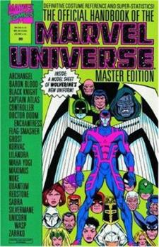 Essential Official Handbook Of The Marvel Universe - Master Edition Volume 1 TPB - Book  of the Essential Marvel