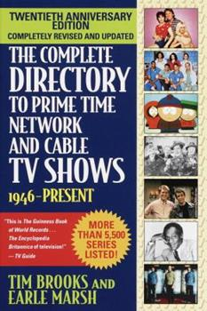 Paperback The Complete Directory to Prime Time Network and Cable TV Shows, 1946-Present Book