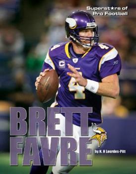 Brett Favre - Book  of the Superstars of Professional Football
